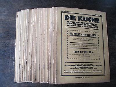 Die kuche zeitschrift kochkunst technik organisation 1931 for Zeitschrift küche
