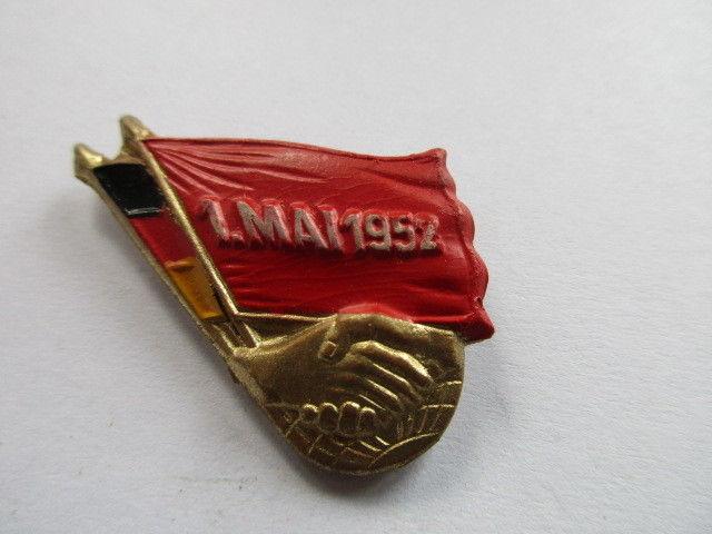 DDR Abzeichen 1. Mai 1952
