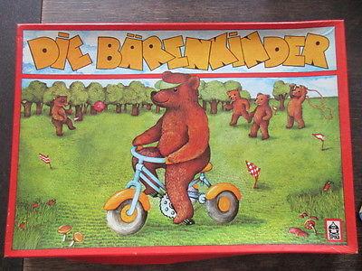 Spika altes Brettspiel Würfelspiel DIE BÄRENKINDER Komplett 1982