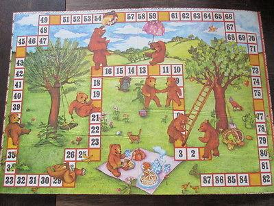 Spika altes Brettspiel Würfelspiel DIE BÄRENKINDER Komplett 1982 3