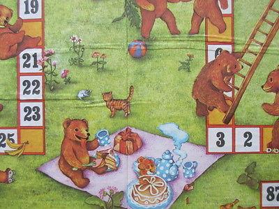 Spika altes Brettspiel Würfelspiel DIE BÄRENKINDER Komplett 1982 4