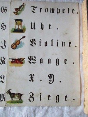 TOPRARITÄT Spear & Söhne Nürnberg Lese und Rechenspiel Lernspiel ca. 1900 5
