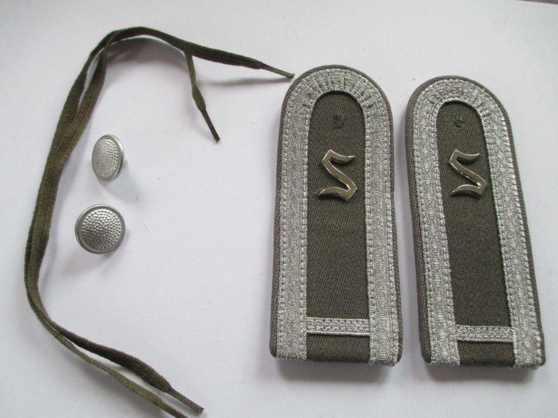 NVA 1 paar Schulterstücke Offiziersschüler  1 Jahr   Luftverteidigung5