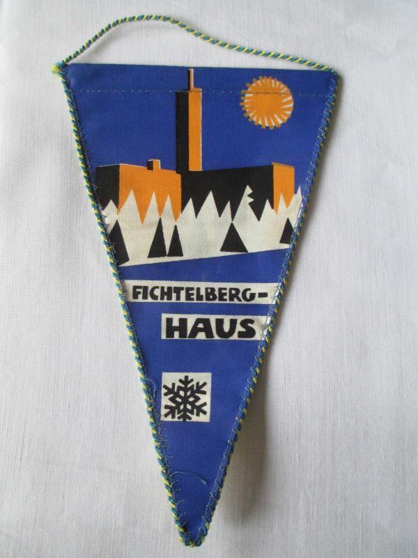 DDR Wimpel Fichtelberg  Haus