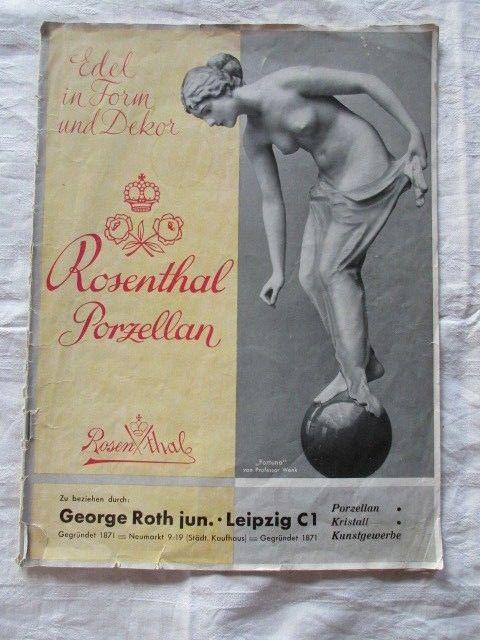 lorenz hutschenreuther qualit tsgeschenke figuren brosch re katalog werbung 1938 nr. Black Bedroom Furniture Sets. Home Design Ideas