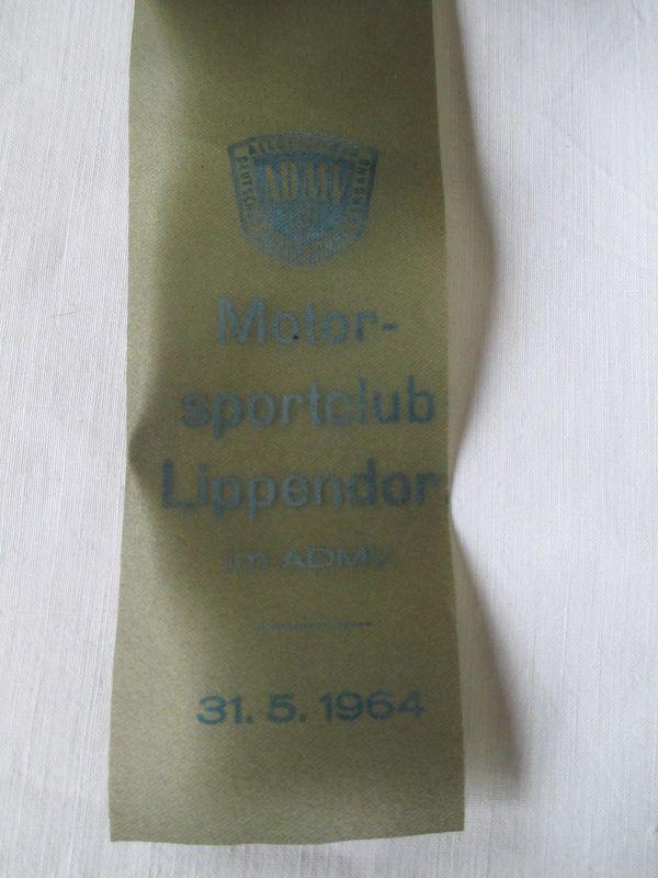DDR  Lippendorf  ADMV 1964  2 Touristentreffen Rund um die Braunkohle 1