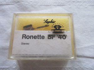 Saphir Ersatznadel Ronette BF 40 OVP