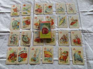 Altes Verkehrs- Quartett Rund um die Welt Nr. 5402 Kartenspiel