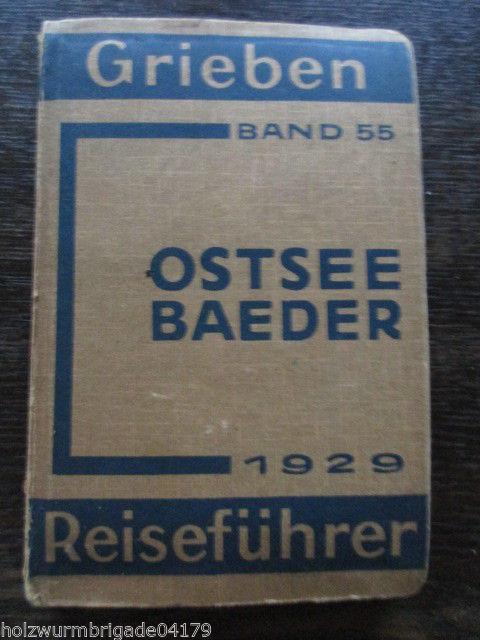 Grieben Reiseführer Ostseebäder 1929 Band 55