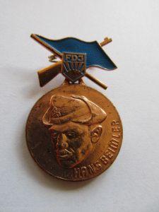 DDR  FDJ Ehrenabzeichen des Hans Beimler-Wettkampfes