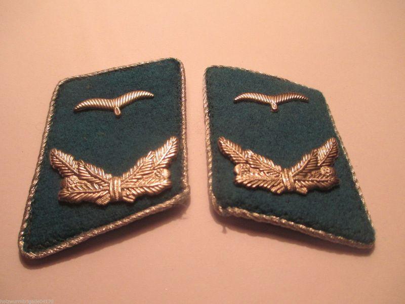 NVA Kragenspiegel Luftstreitkräfte Offiziere