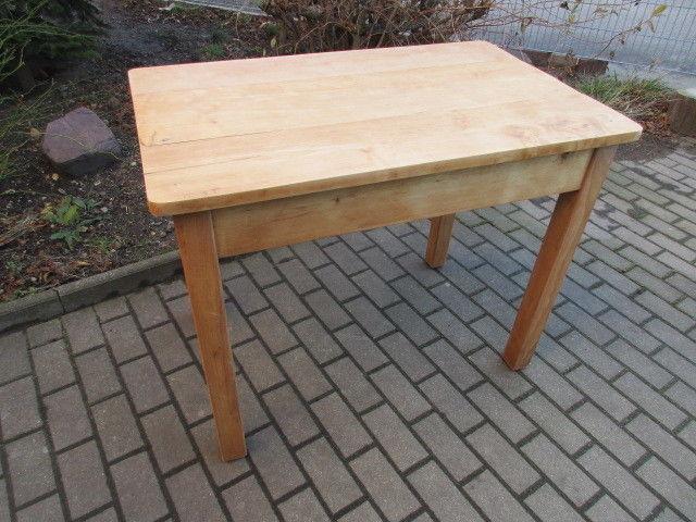 Alter Tisch Esstisch Jugendstil Weichholz um 1900  Nr.16