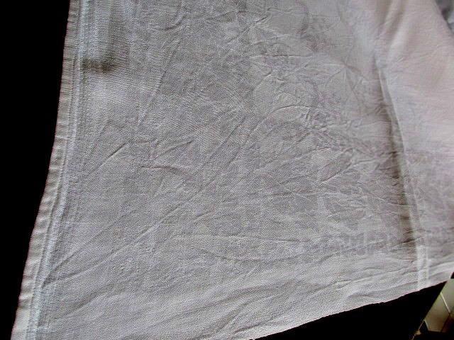 Herrliches altes XXL Leinen Tischtuch Tafeltuch Tischdecke Jugendstil 320 x 130 6