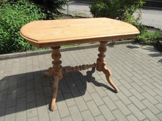 Alter Tisch Gründerzeit Weichholz um 1890  Nr.3