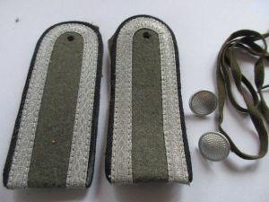 NVA 1 paar Schulterstücke Pioniere Unteroffizier alte Form