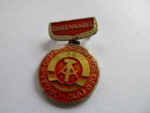 DDR Abzeichen Ministerium der Justiz Ehrennadel der Organe der Rechtspflege