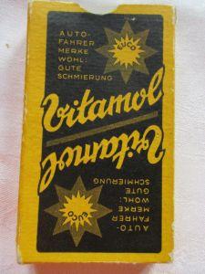Alte Skatkarten Werbung Auto Vitamol Ass Altenburg Thüringen um 1935 TOP