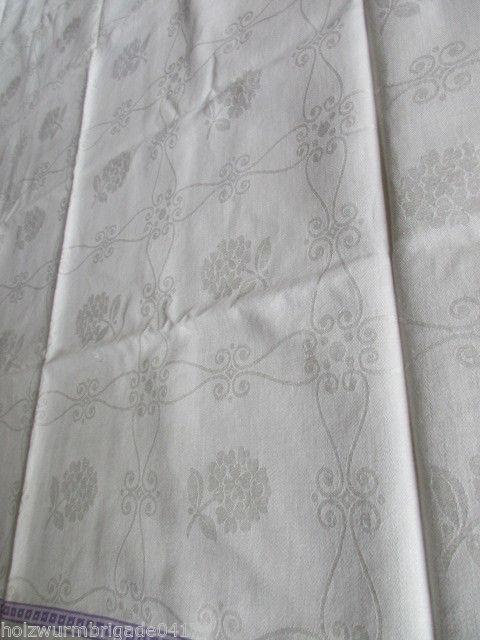 Xl Tischdecke Tafeltuch Jugendstil L E I N E N 1 6 0 X 2 0 6 Cm Textilien & Weißwäsche Tischdecken
