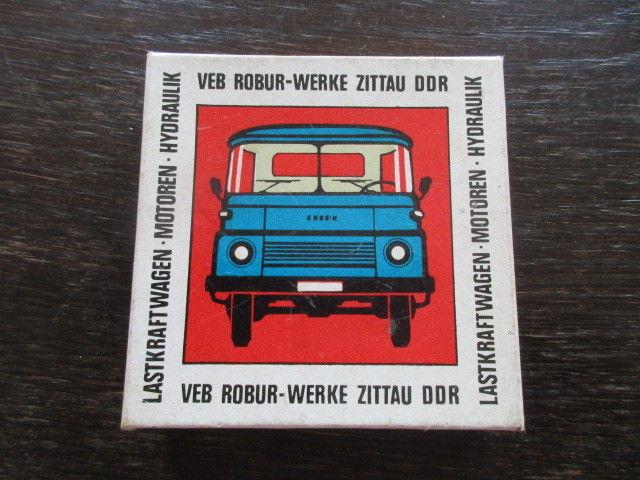 80 Jahre Robur Werke Zittau Fahrzeugbau 1888- 1968 Werbung 3 Glasplatten 2