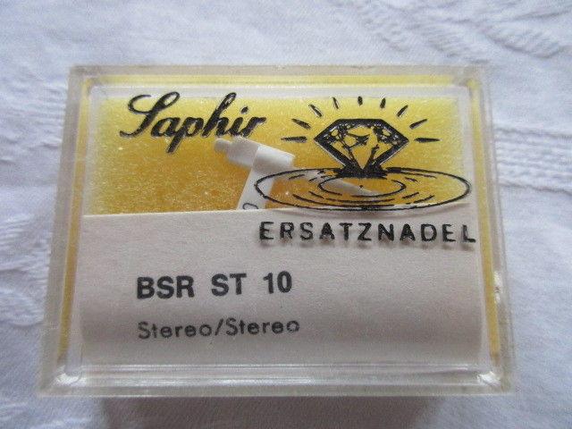 Saphir Ersatznadel BSR ST 10 OVP