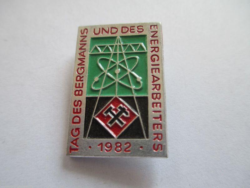 DDR Abz. Tag des Bergmanns  1982