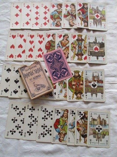 Alte Superfine Royal Cards Brigde Nr. 48200 Niederlande um 1920
