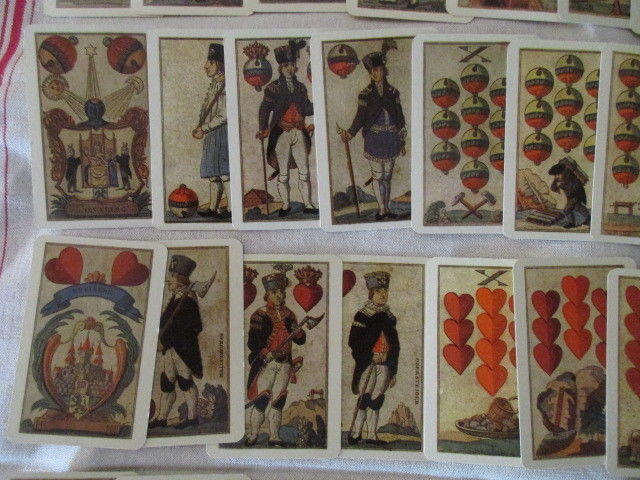 Skat Erzgebirgische Bergmanns Spielkarte Nachdruck 32 Blatt DDR TOP