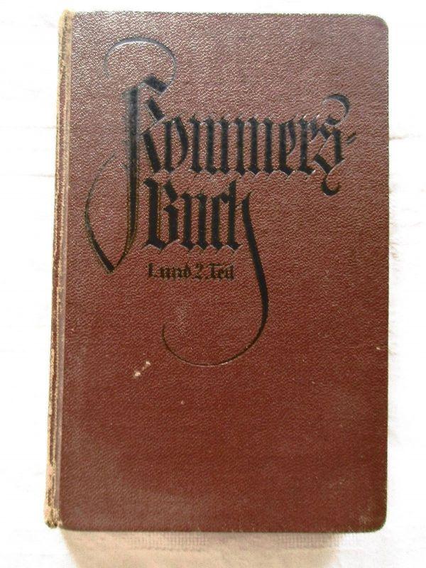 Kommersbuch Studentenliederbuch Studentika Stempel Zieglerschule Zwickau 1897