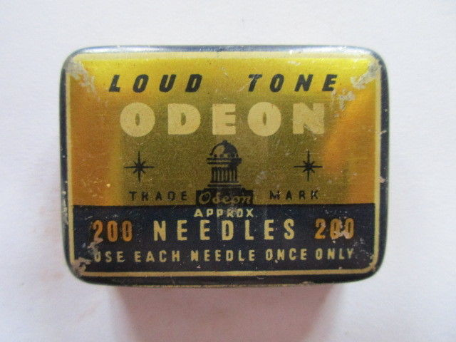 Seltene alte Grammophonnadeln ODEON Loud Tone Laut Nadeldose