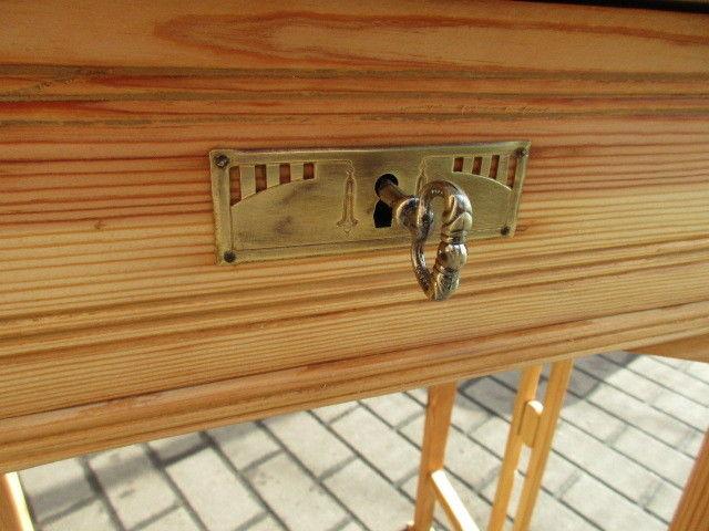 Alter Beistelltisch Tisch Esstisch Jugendstil Weichholz um 1900 1