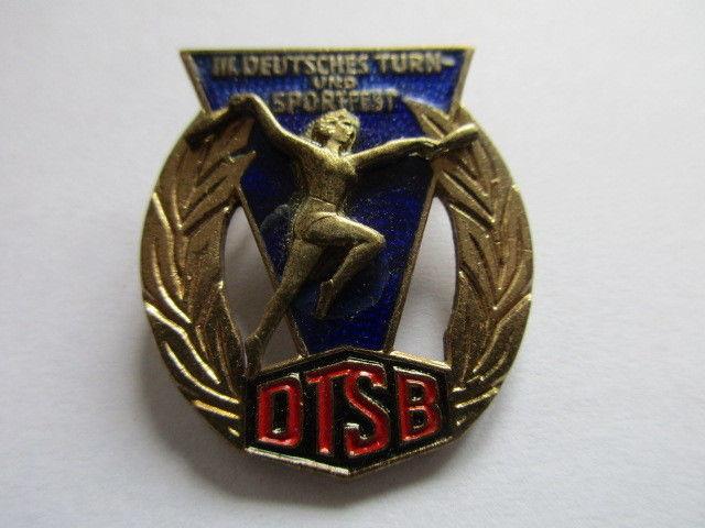 DDR Abzeichen DTSB  III Turn und Sportfest Leipzig 13.-15.8.1959
