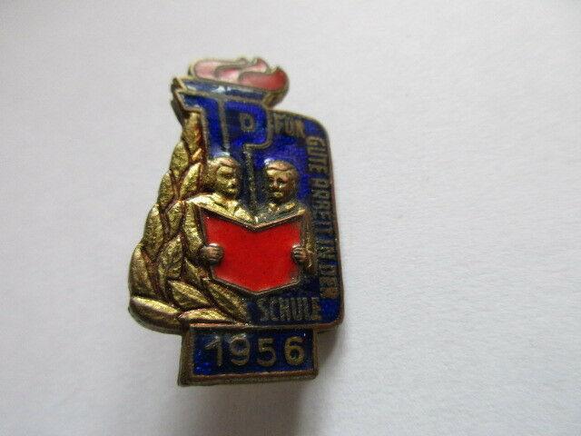 DDR Abz. Pioniere für gute Arbeit in der Schule  1956