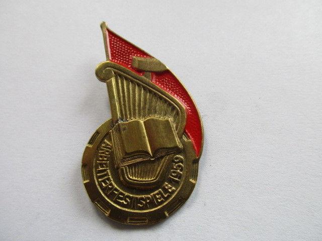 DDR Abzeichen 1959  Arbeiterfestspiele