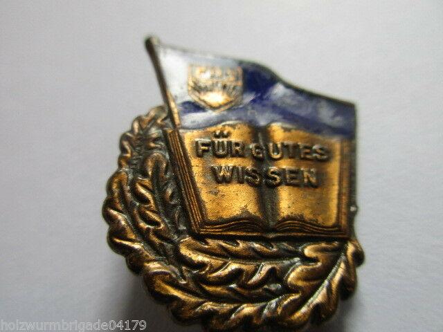DDR FDJ Abz. für gutes Wissen  1950-54  Bronze mit Nummer