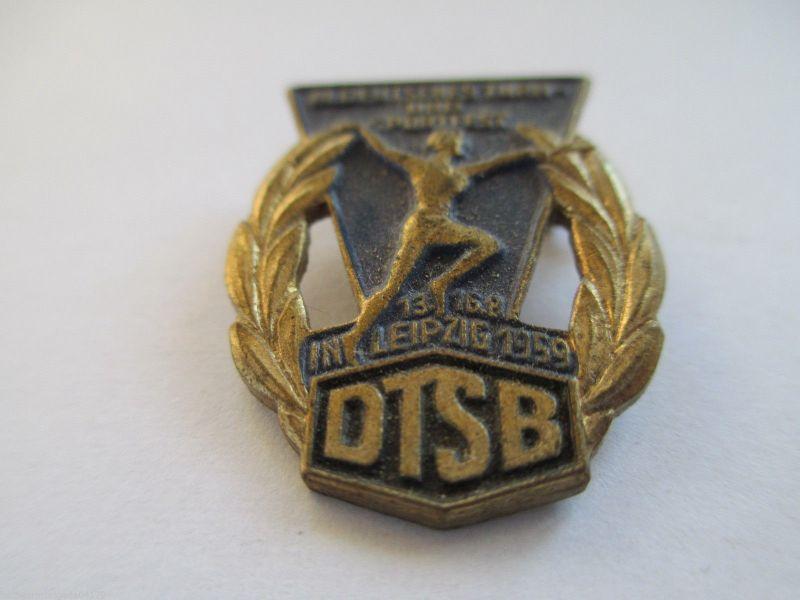 DDR Abz. DTSB 3 Turn-u. Sportfest Leipzig 13-16.08.1959
