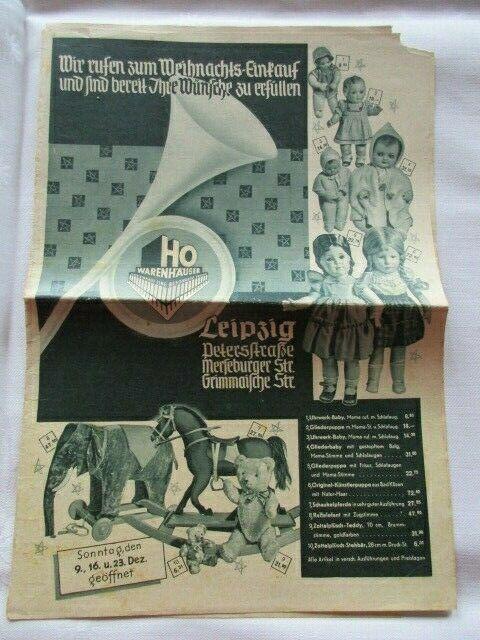 Katalog Warenkatalog HO Warenhaus Leipzig 1956