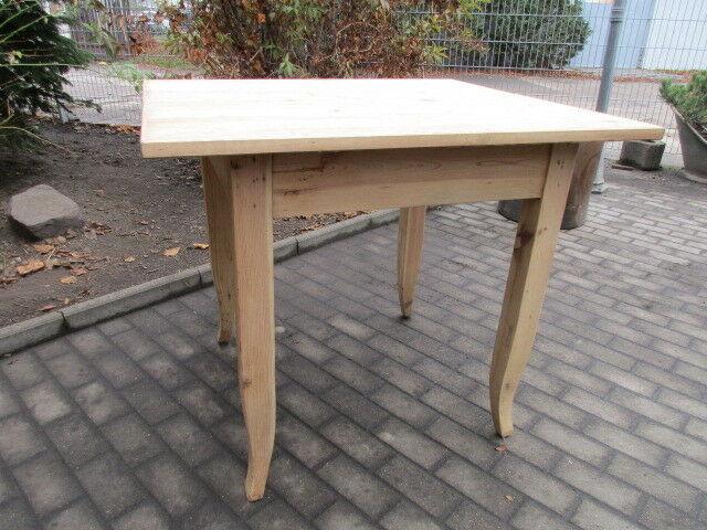 Tisch Esstisch Biedermeier um 1860 Weichholz Nr.2