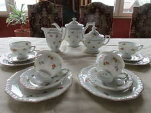 Rosenthal Maria Streublume Kaffeeservice Teeservice 15 tlg. 4 Personen