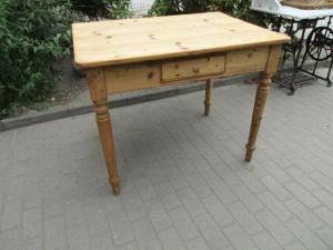 Alter Tisch Gründerzeit Weichholz um 1890  Nr.12