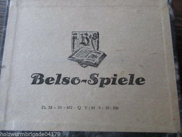 RARITÄT altes Belso Spiel Paul Beltz & Sohn