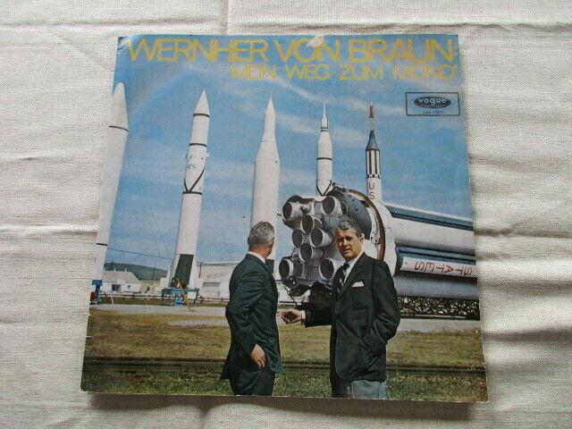 Wernher von Braun Mein Weg zum Mond Vogue LP 1965 0