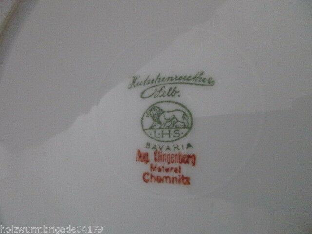 Teller Jubiläum Schützengesellschaft Chemnitz Ost 1871- 1931 Hutschenreuther 4