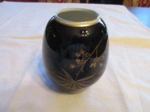 Wunderschöne alte  Vase Weimarer Porzellan Echt Kobalt TOP
