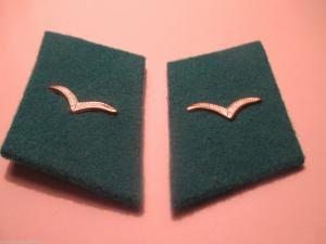 NVA Kragenspiegel Luftstreitkräfte Mannschaft