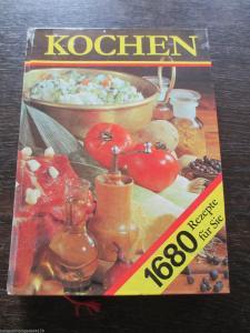 Kochen neues Rezeptbuch 1680 Rezepte Verlag für die Frau 1984