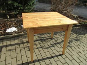 Tisch Esstisch Gründerzeit um 1890 Weichholz  Nr. 4