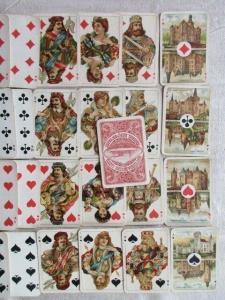 Seltenes Kartenspiel Speelkaartenfabriek Nederland Amsterdam Rotterdamsche Lloyd