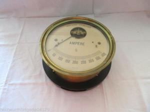 RARITÄT Präcisions- Stromzeiger Siemens & Halske Amperemeter um 1900