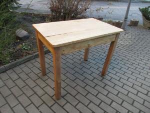 Alter Tisch Esstisch Jugendstil Weichholz um 1900  Nr.15