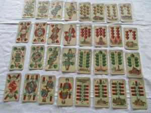 Alte Skatkarten VASS Preußisches Doppelbild Nr. 106 um 1935